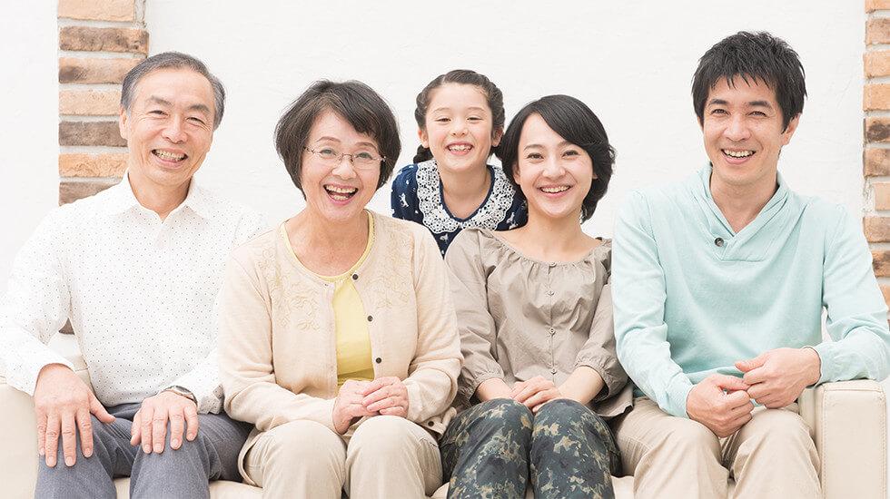 患者様と家族のイメージ